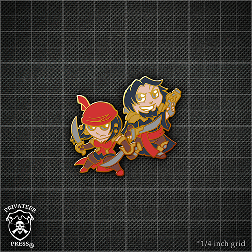 Iron Kingdoms Military Insignia Pins and New Chibi Pins on Sale Now